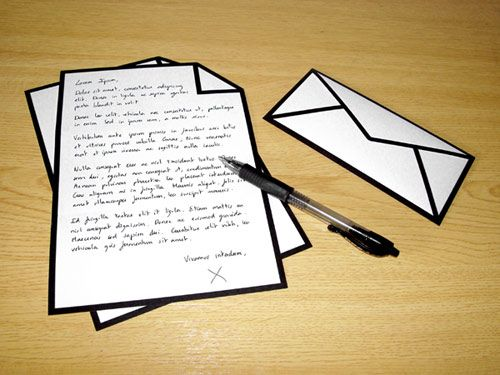 Image result for images of letters and envelopes