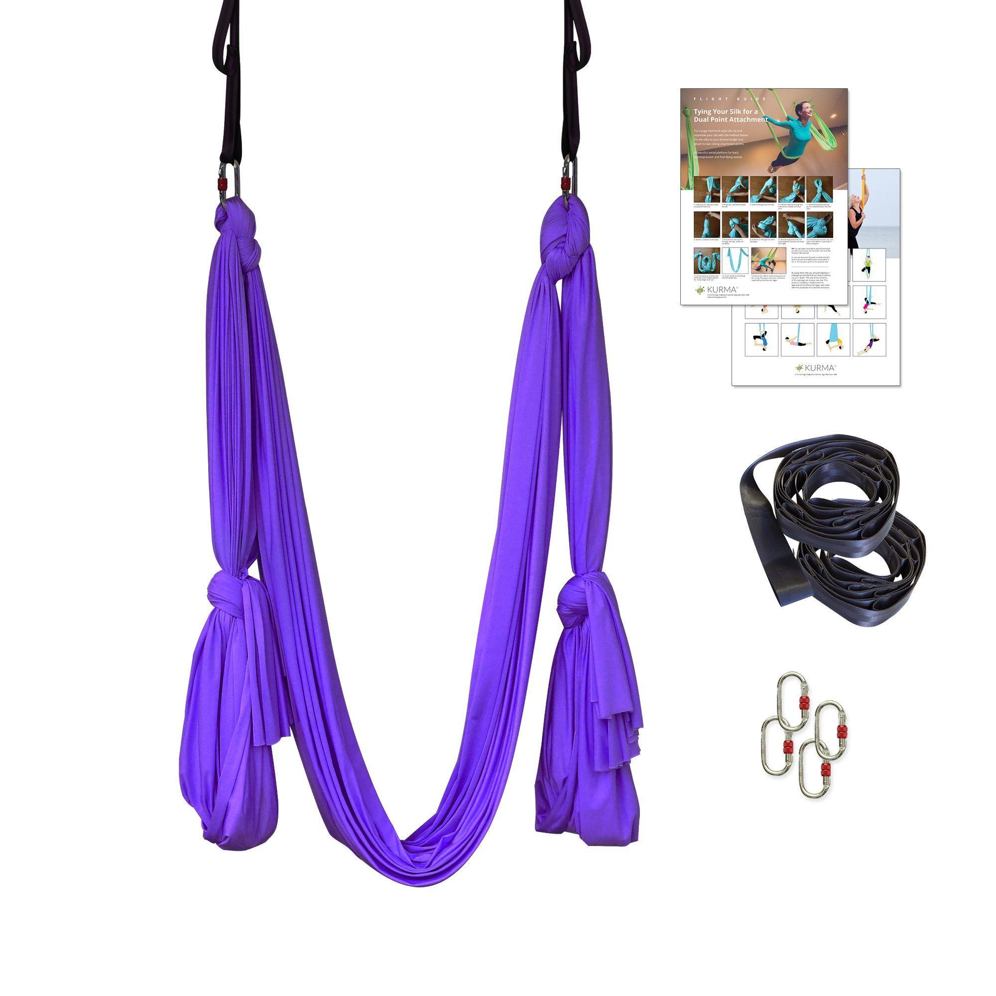 Free shipping on orders over premium aerial yoga hammock kit