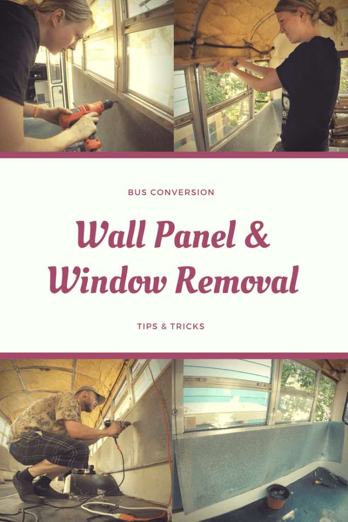 Wall Panel & Window Removal Tips & Tricks