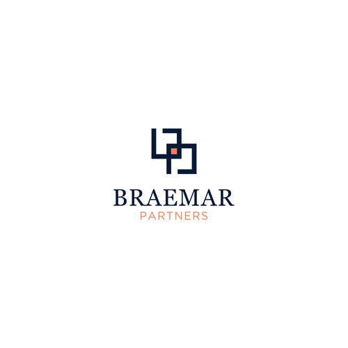 Braemar Partners Upscale Logo Design For Start Up Company