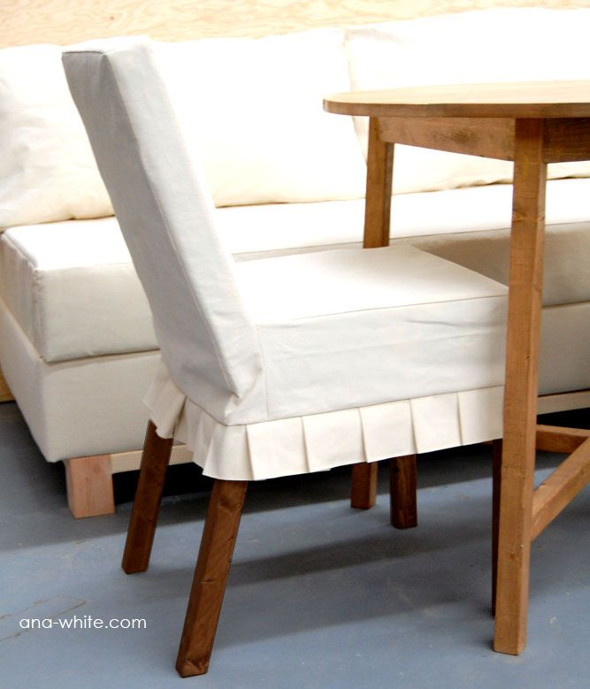 parson chair slipcovers free and easy diy project and furniture