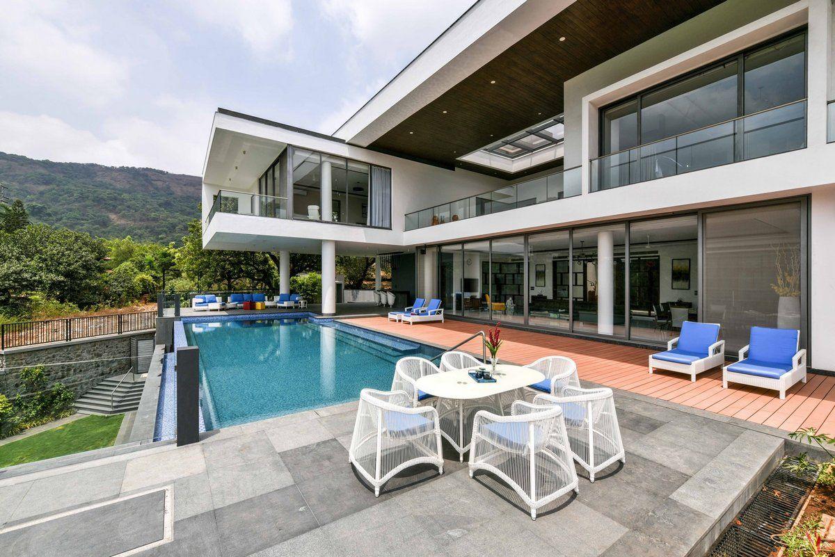 Modern mansion in India Красивые дома, Вилла, Дом