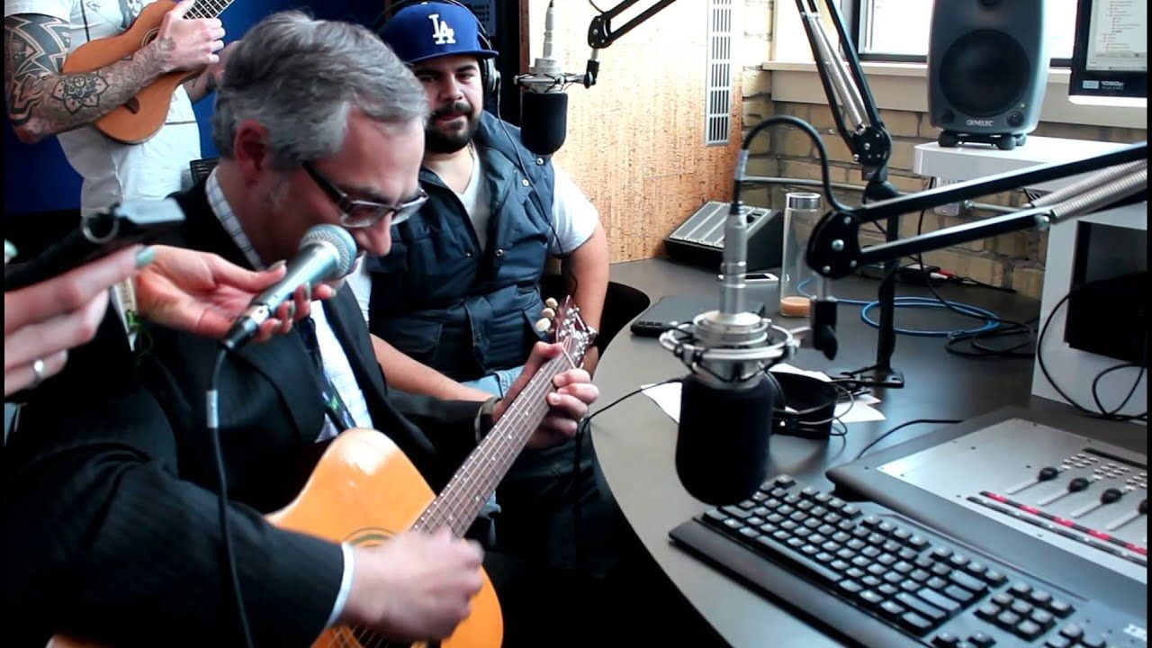 Tony Clement plays The Clash live on The Todd Shapiro Show