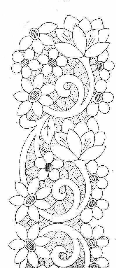 Pin by Emily Christensen Lynn on adult coloring pages | Bordado ...