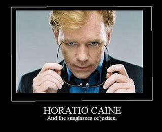 6df96e871e53 Horatio Caine and the sunglasses of justice