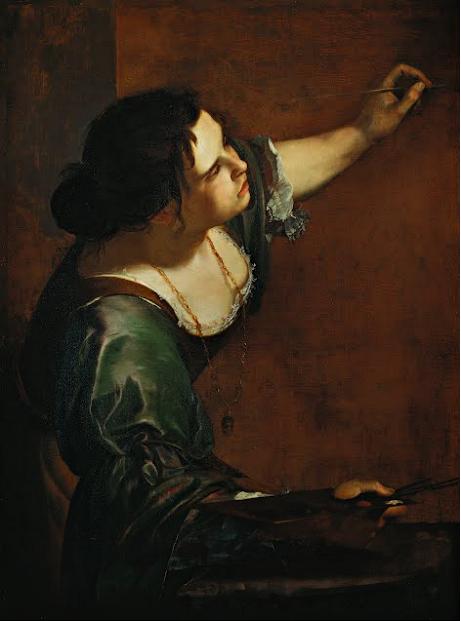 Artemisia Gentileschi Self Portrait Lovers And Madmen Pinterest