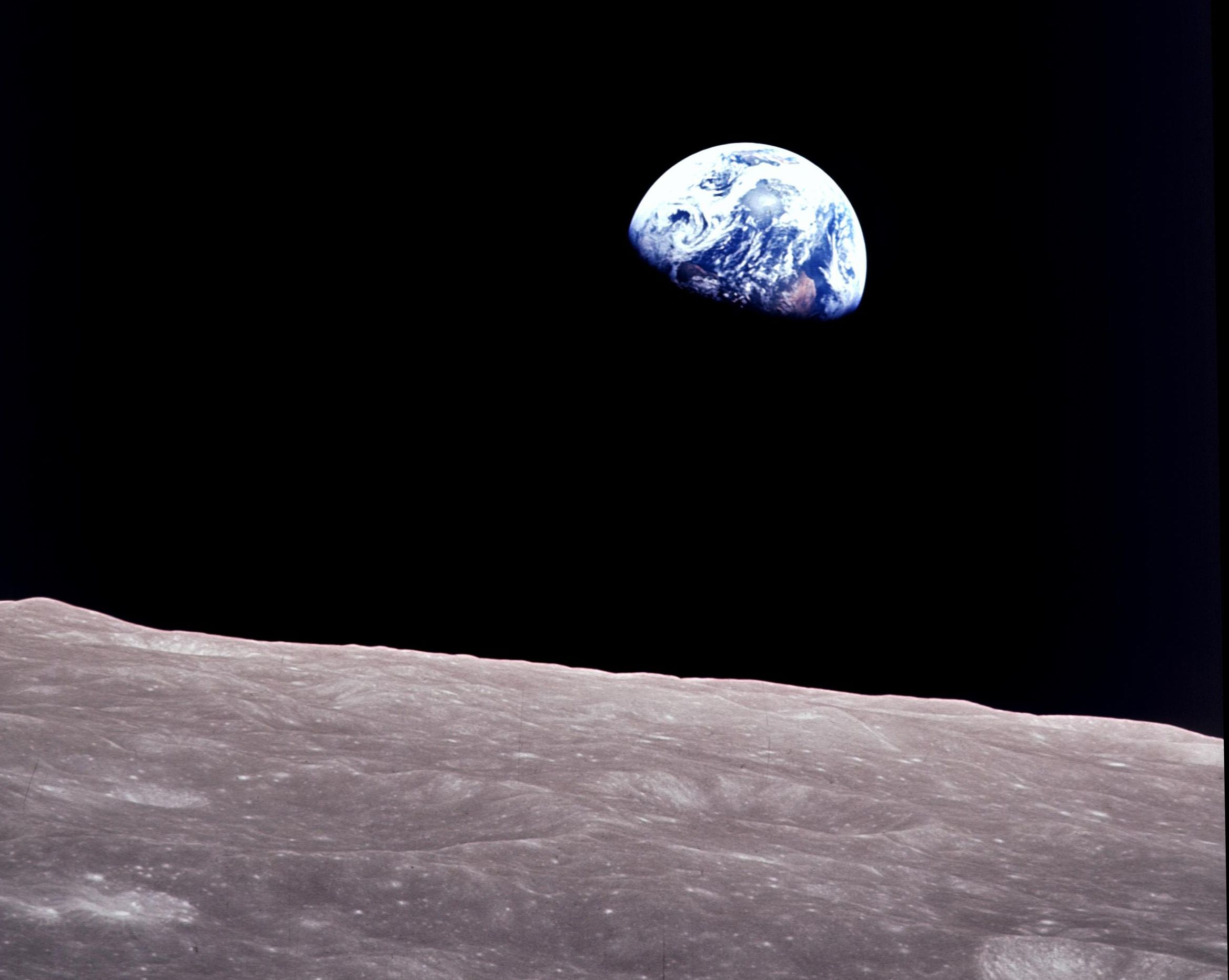 Earthrise William Anders 1968 Apollo 8 Astronaut Bill