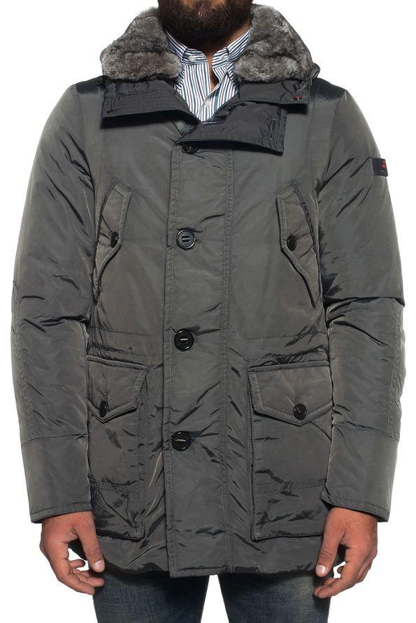 on sale 3a845 af551 Hasselblad Oxf Fur hooded jacket PEUTEREY | Men's fashion ...