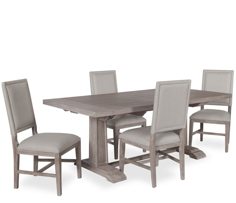 "Somerset 5 piece Dining Set 5 Piece Dining Set 39 5""w x 79"