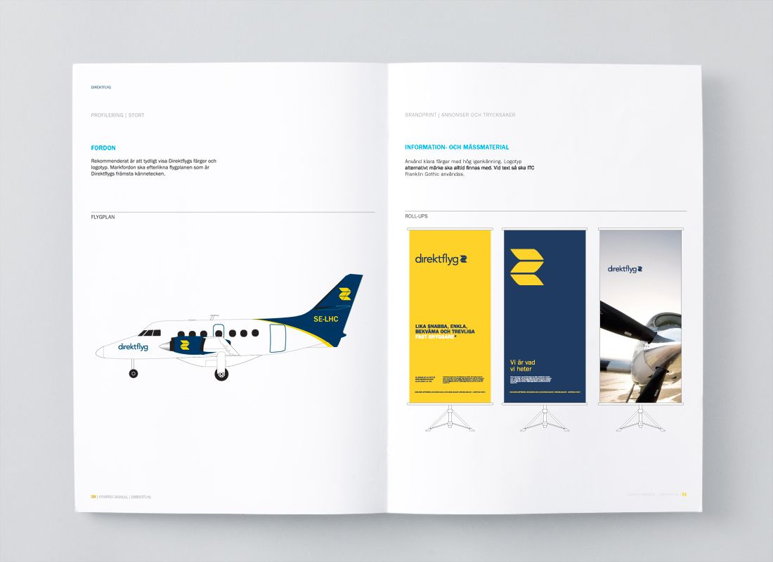 Chevychase: corporate branding for airline