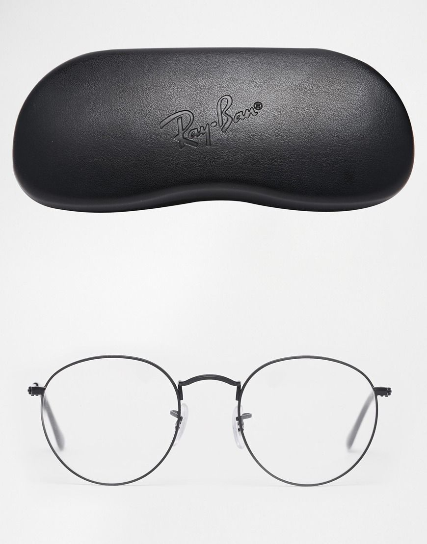 Image 2 Of Ray Ban Round Metal Glasses Com Imagens Armacoes De