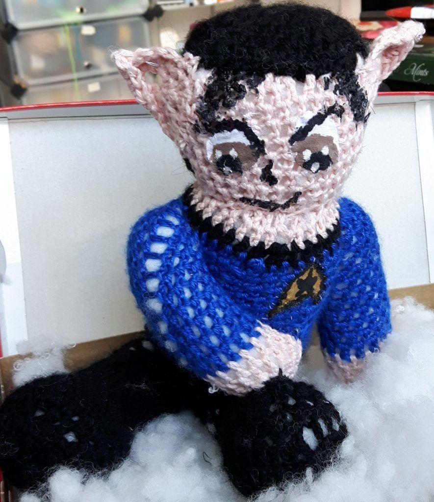 Mr. Spock fertig