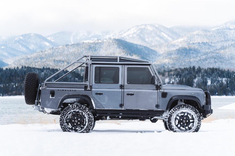Himalaya Thinks Its LS3Powered Land Rover Defender 110