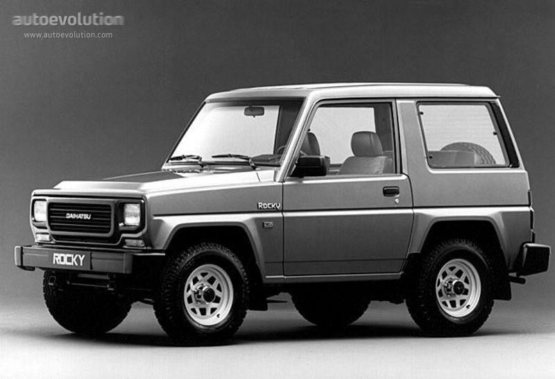 Daihatsu Rocky Hardtop Specs Photos 1988 1989 1990 1991