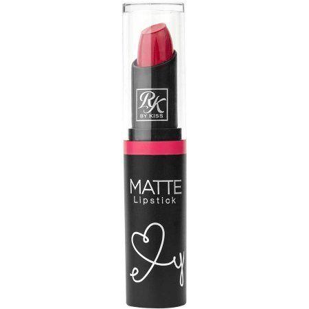 Kiss Ruby Kisses Matte Lipstick, Red Mangrove, 0.12 fl oz