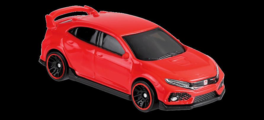 2018 Honda Civic Type R in Red, NIGHTBURNERZ, Car