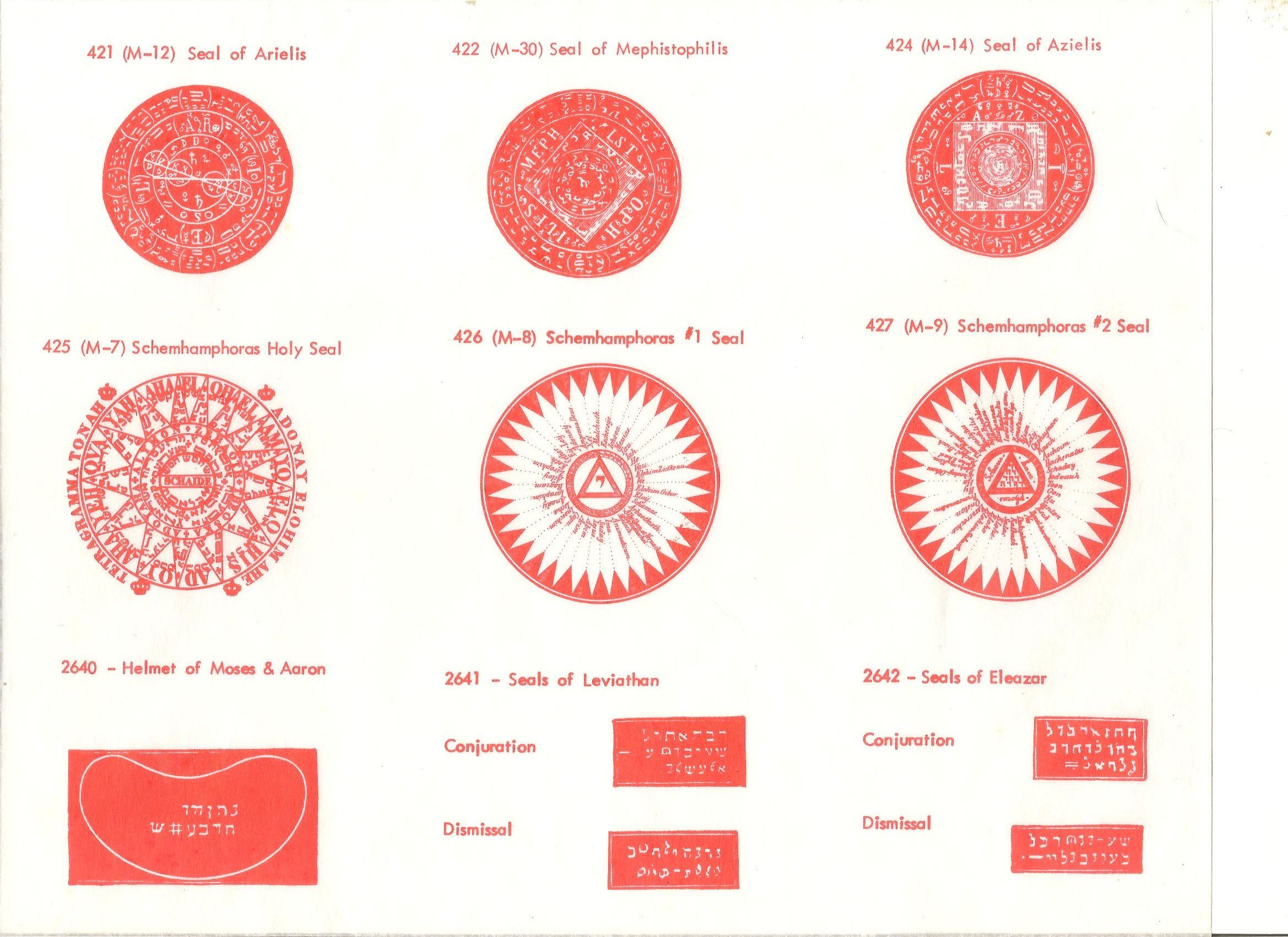 Attract love and sex symbols seals from the 6th and 7th books of attract love and sex symbols seals from the 6th and 7th books of moses and buycottarizona Image collections