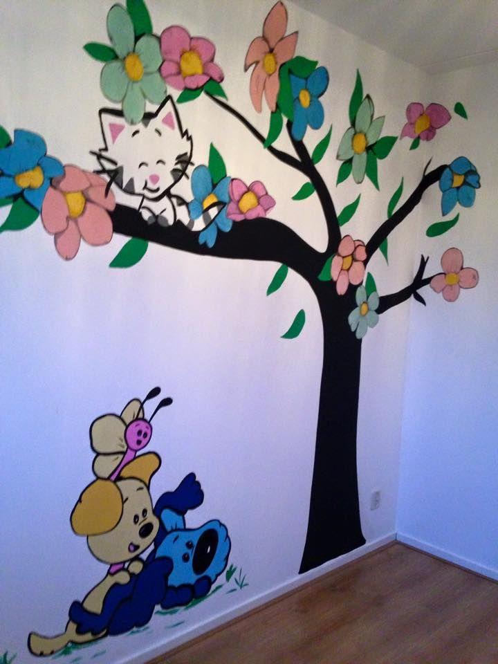 woezel en pip muur | ♡baby-ideas♡ | pinterest, Deco ideeën