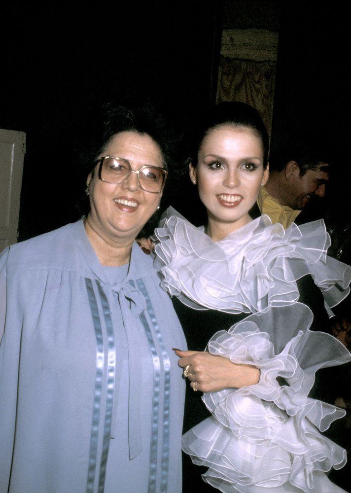 1979 Marie Osmond and Mom | Marie osmond, Osmond, Donny osmond