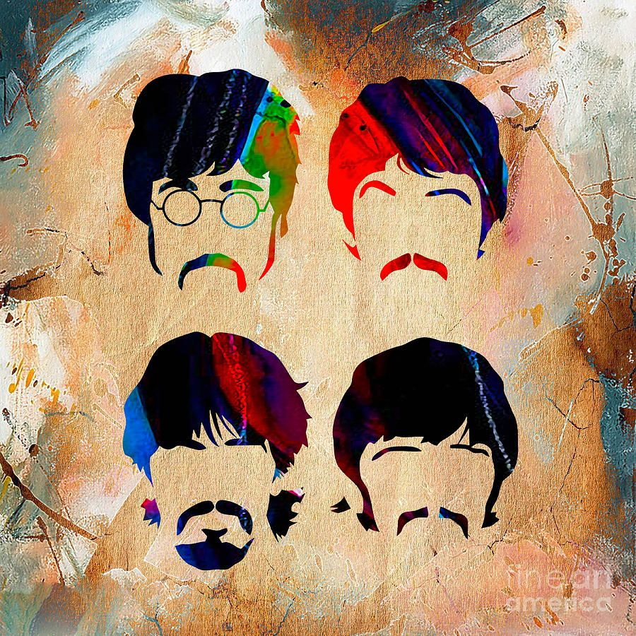 The Beatles Collection Canvas Print / Canvas Art by Marvin Blaine ...