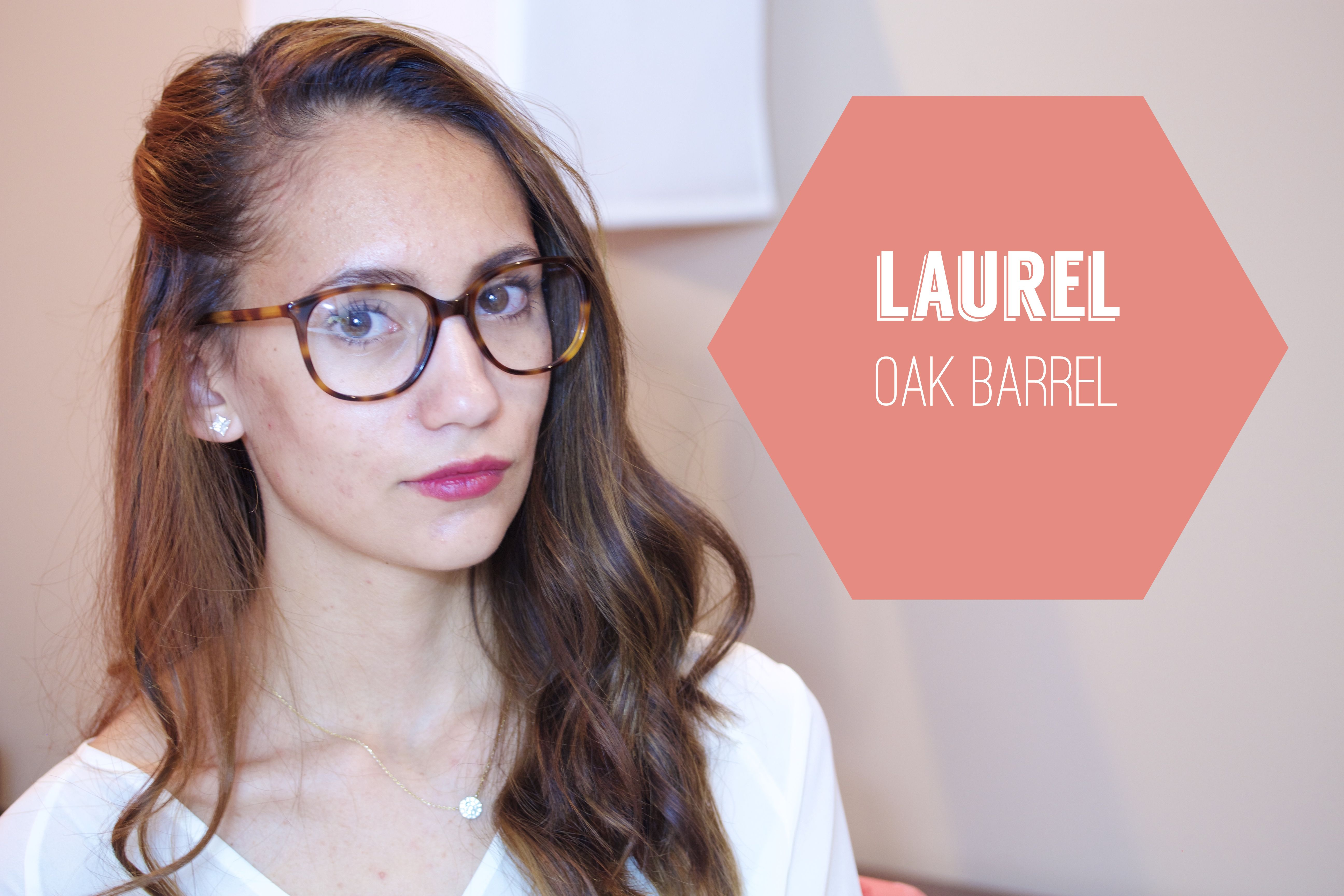 Pressing Flowers Blog   Warby Parker at Home Try-on Laurel in Oak ...