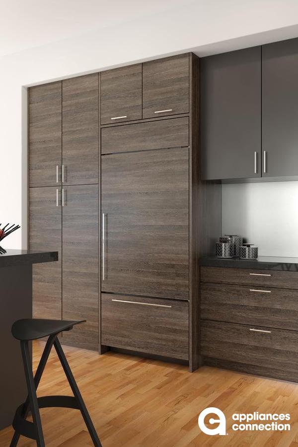 Pin By Lauren Ungs On Kitchen In 2020 Modern Refrigerators Refrigerator Panels Built In Refrigerator