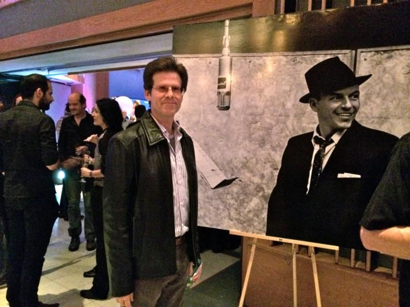 studioexpresso Oct 2014 eZine -  Back to the Rat Pack Era at Capitol studios with Brent Fischer and Rafa Sardina (with friends in the background)  photo: by the C
