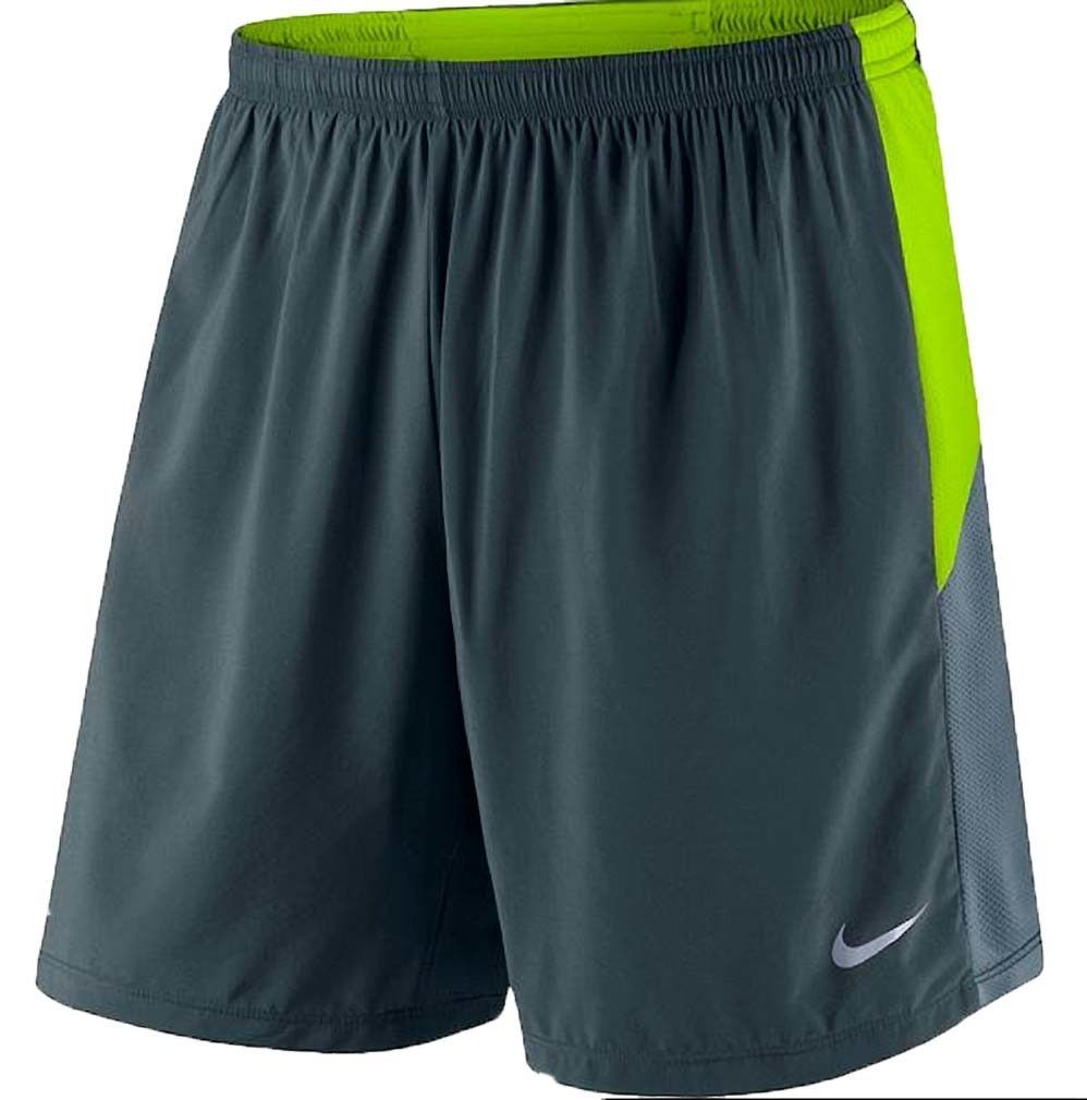 "NIKE Men's 7"""" Dri Fit Pursuit Distance 2 in 1 Lined Running Short"