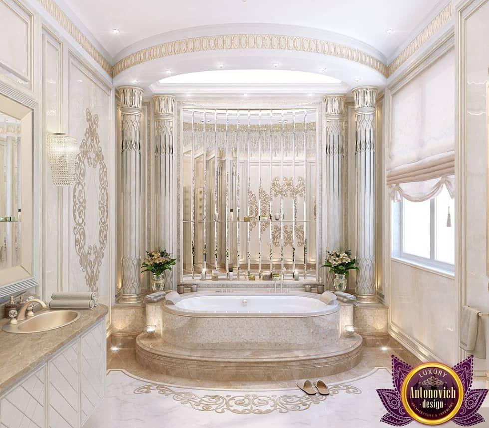 Bathroom Design Of Katrina Antonovich Luxury Antonovich Design Classic Style Bathroom Homify Classic Bathroom Classic Bathroom Design Classic Style Bathrooms