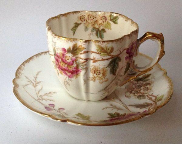 Ansley English Teacup And Saucer Çay