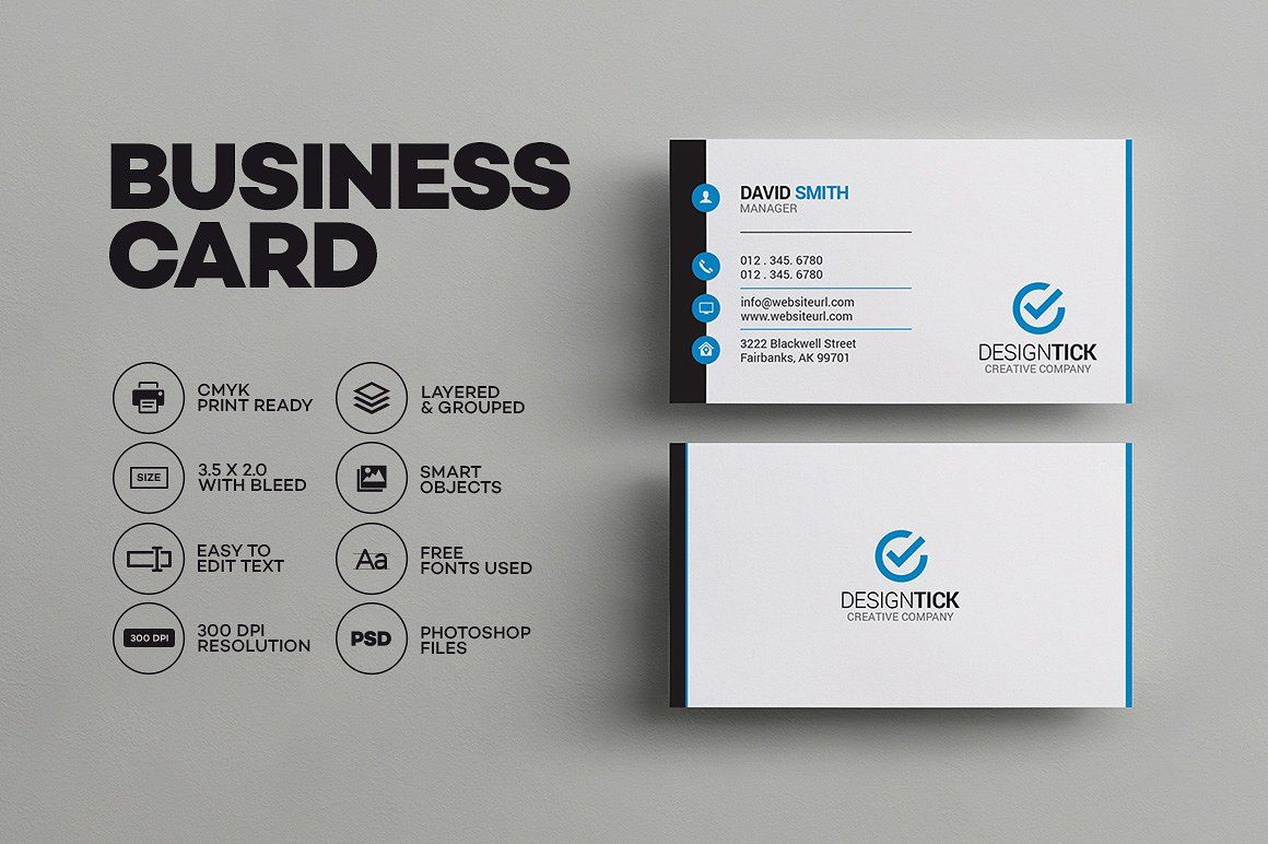 Simple clean business card business cards simple business card simple clean business card templates business card template for both corporate business and personal usefeatures fully editable by made by arslan colourmoves