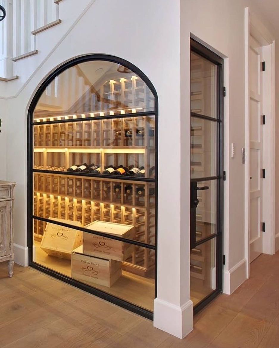 How To Build Your Own Wineroom Home Wine Cellars Under Stairs Wine Cellar Wine Closet