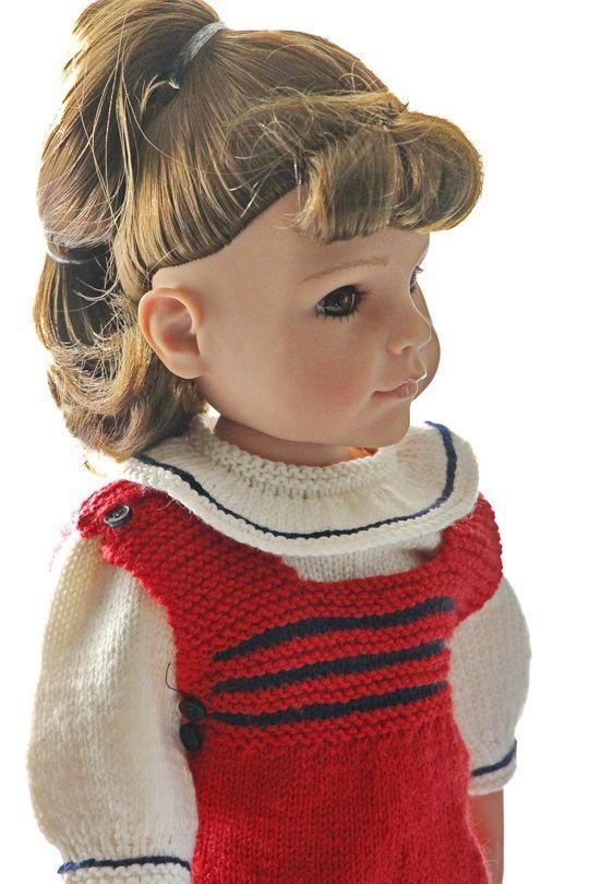 Puppenkleidung stricken kostenlos | Puppenkleider stricken anleitung ...