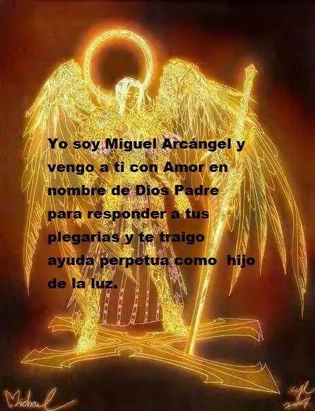Frases Angeles San Miguel Angel Y Angel Cards