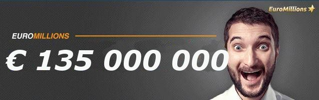 It's another rollover! Friday's ‪‎EuroMillions‬ has now reached the highest jackpot of the year so far at € 135,000,000 million!  To get your tickets head over to http://ads.playukinternet.com/tracking.php/text/3113/12626/3368003/1