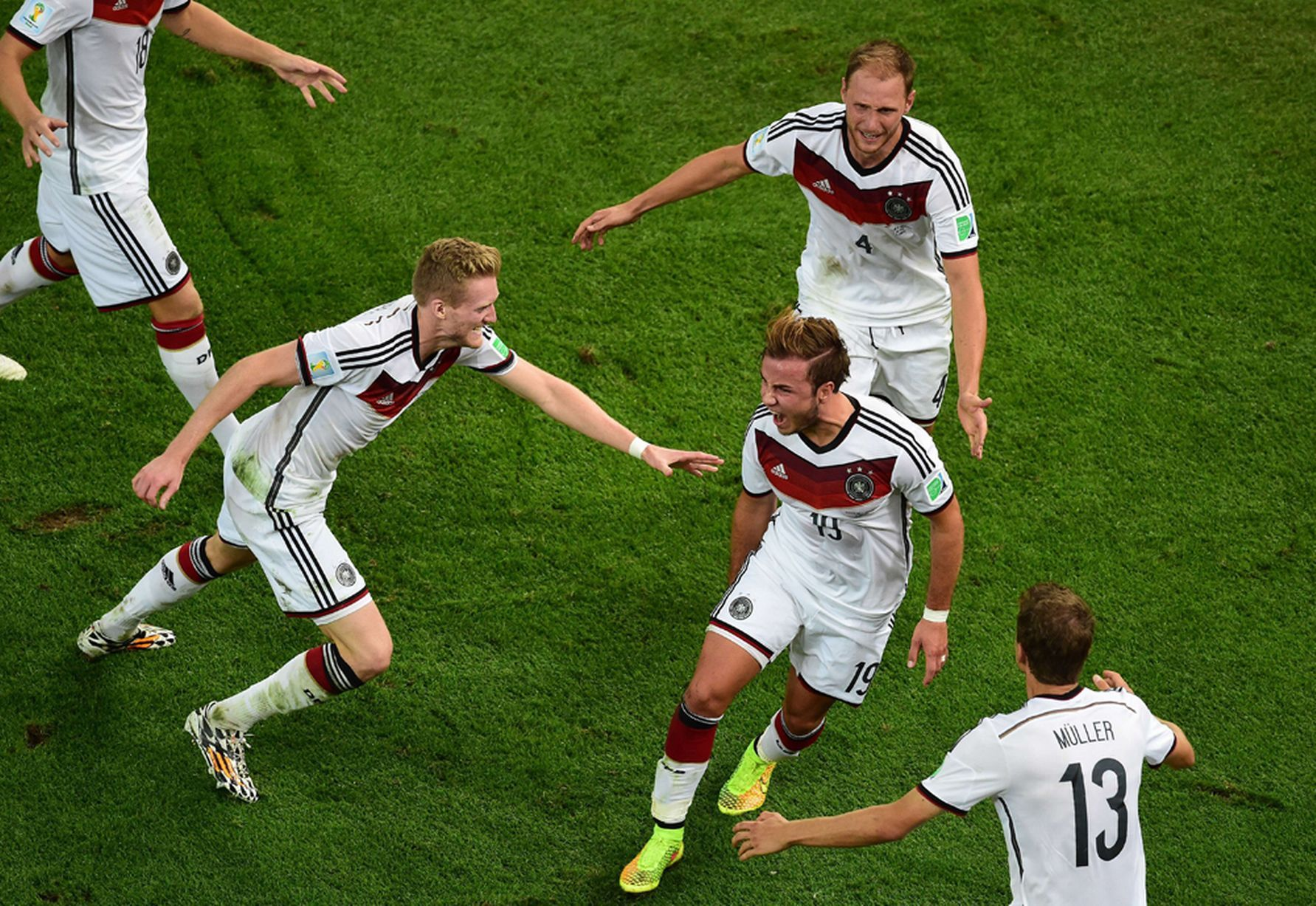 Germany 1 0 Argentina Aet Match Report Gotze Goal Seals History World Cup Victory For Germans Fussball Wm Wm 2014 Weltmeister