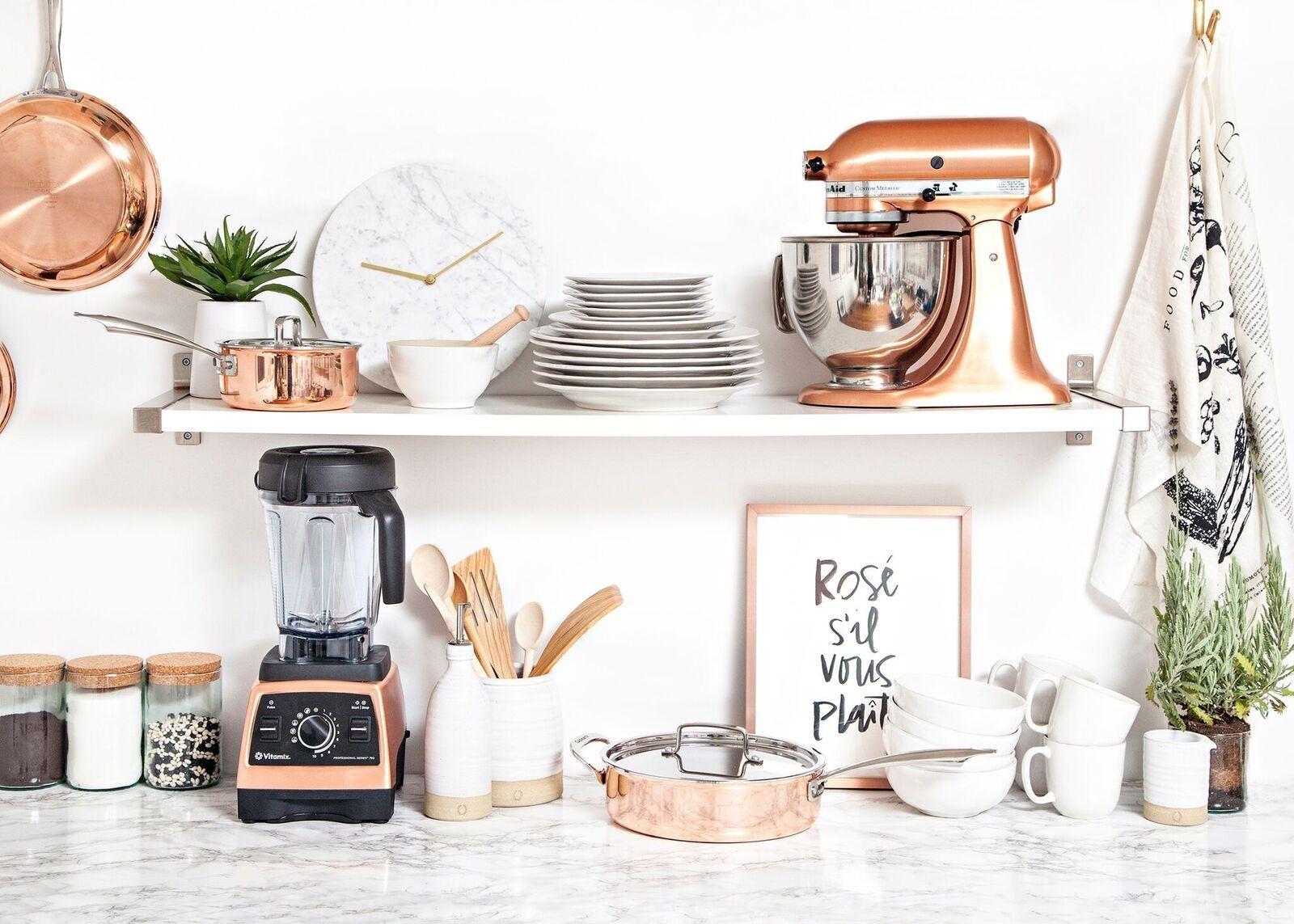 Image result for decoração cozinha rose gold