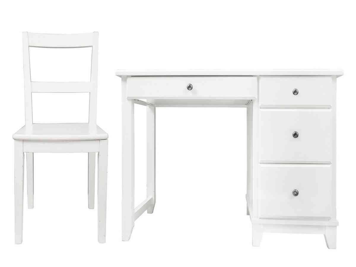 White Desk And Chair Set | Chair Sets | Desk, chair set ...