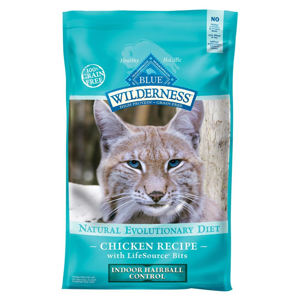 Blue Buffalo Wilderness Grain Free Indoor Hairball Control Cat