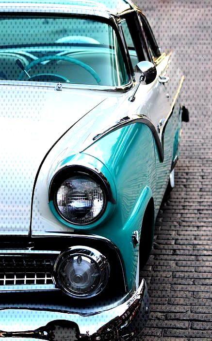 1955 Ford Fairlane von Rosanne Jordan  - Autos -
