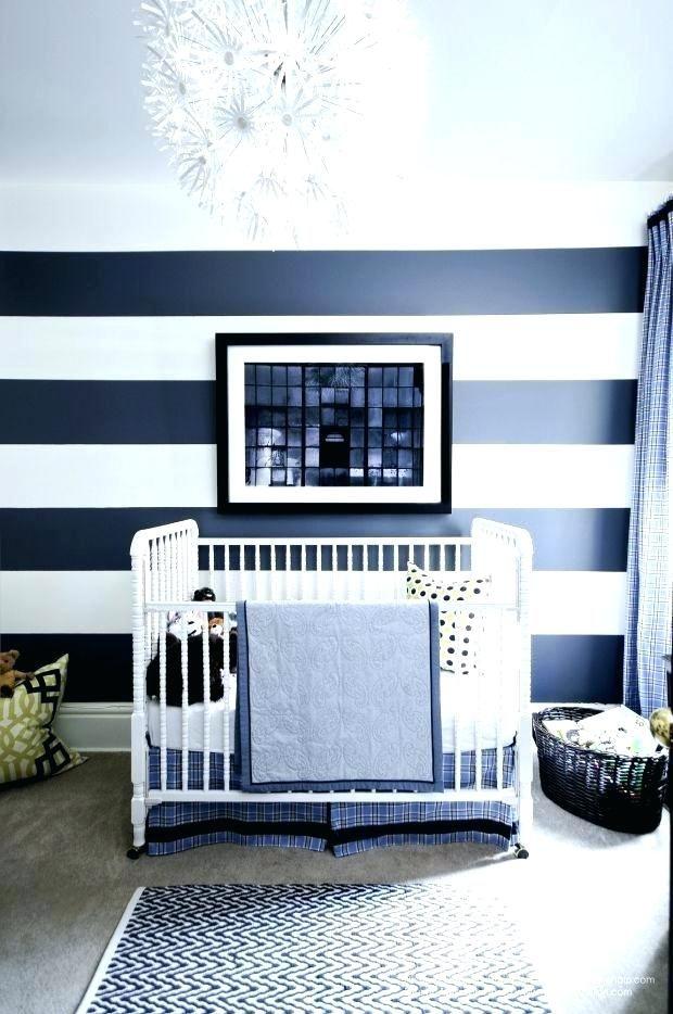 Gestreifte Wand Ideen Babyzimmer deko, Baby kinderzimmer