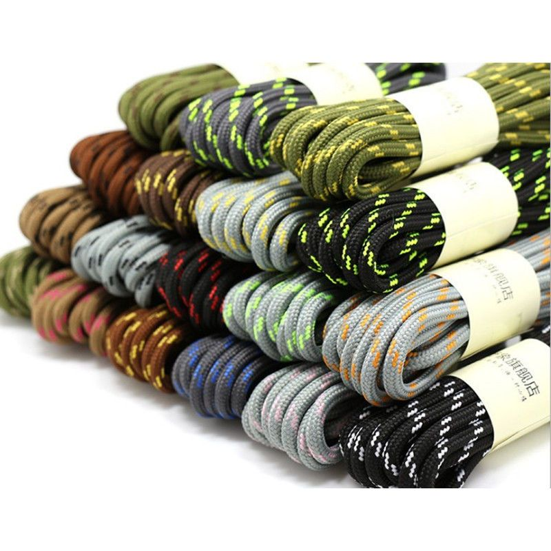 30883681d55 £2.99 GBP - Shoe Laces Round Bootlaces Walking Boot Hiking Boot Strong Laces  4.5Mm Wide  ebay  Home   Garden