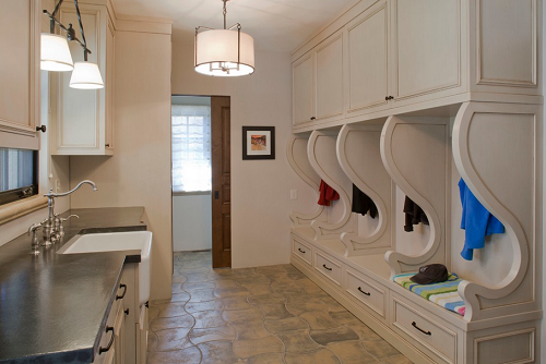 This Mudroom/laundry Room Combo Has It All: Individualized Storage With  Tons Of Space Part 45