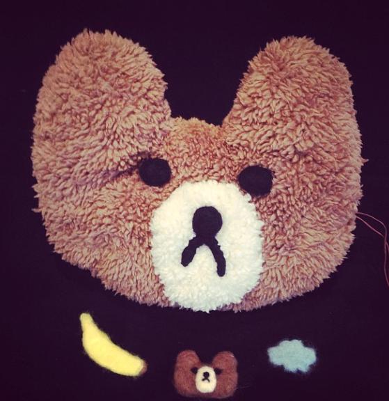 Handmade toys for life! Washabili bear, cloud and banana