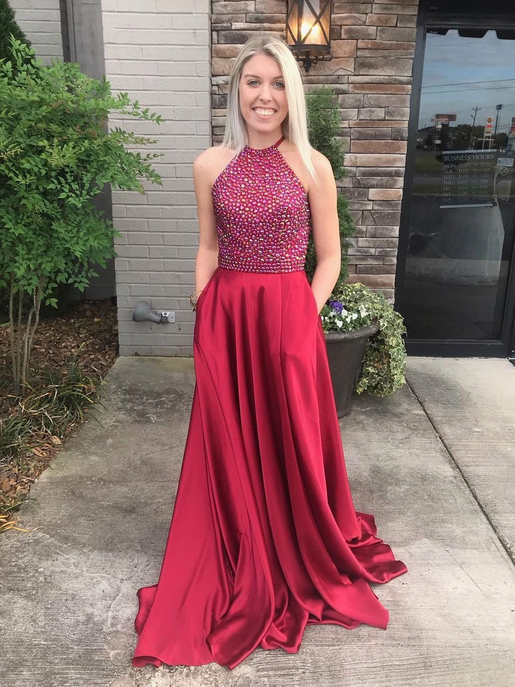 Outlet enticing long prom dresses burgundy prom dresses aline