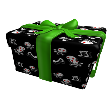 Opened Musical Gift From The Grave A Hat By Roblox Roblox Updated 10 15 2014 3 48 09 Pm Roblox Gifts Musical Gift Roblox Roblox