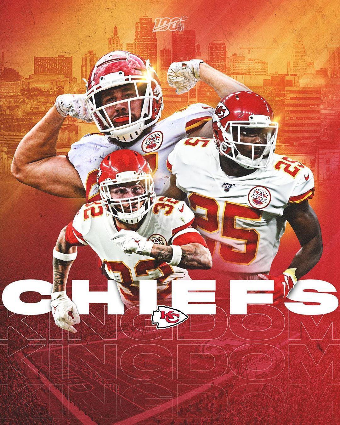 Nfl The Chiefs Improve To 5 2 Kcvsden Kansas City Chiefs Football Kansas City Chiefs Logo Kc Chiefs Football