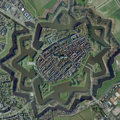Naarden Star Fort   city, monument, place with historical importance,  fortification, interesting place