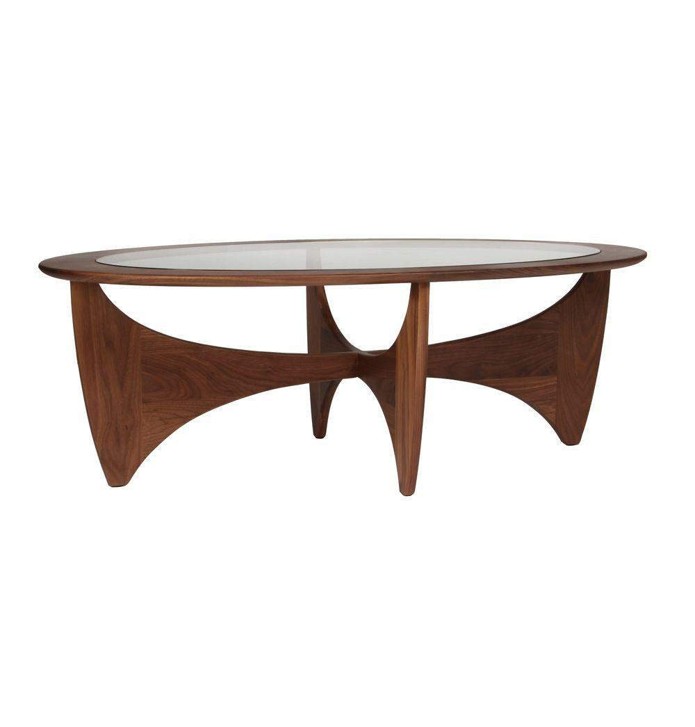 Matt Blatt Eames Coffee Table: Replica G-Plan Coffee Table