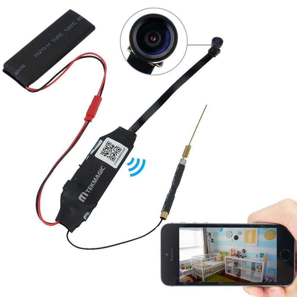 67, Wiseup 8GB Mini Wifi Network Spy Camera Module Motion